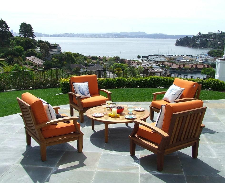 mobili da esterno in legno novara